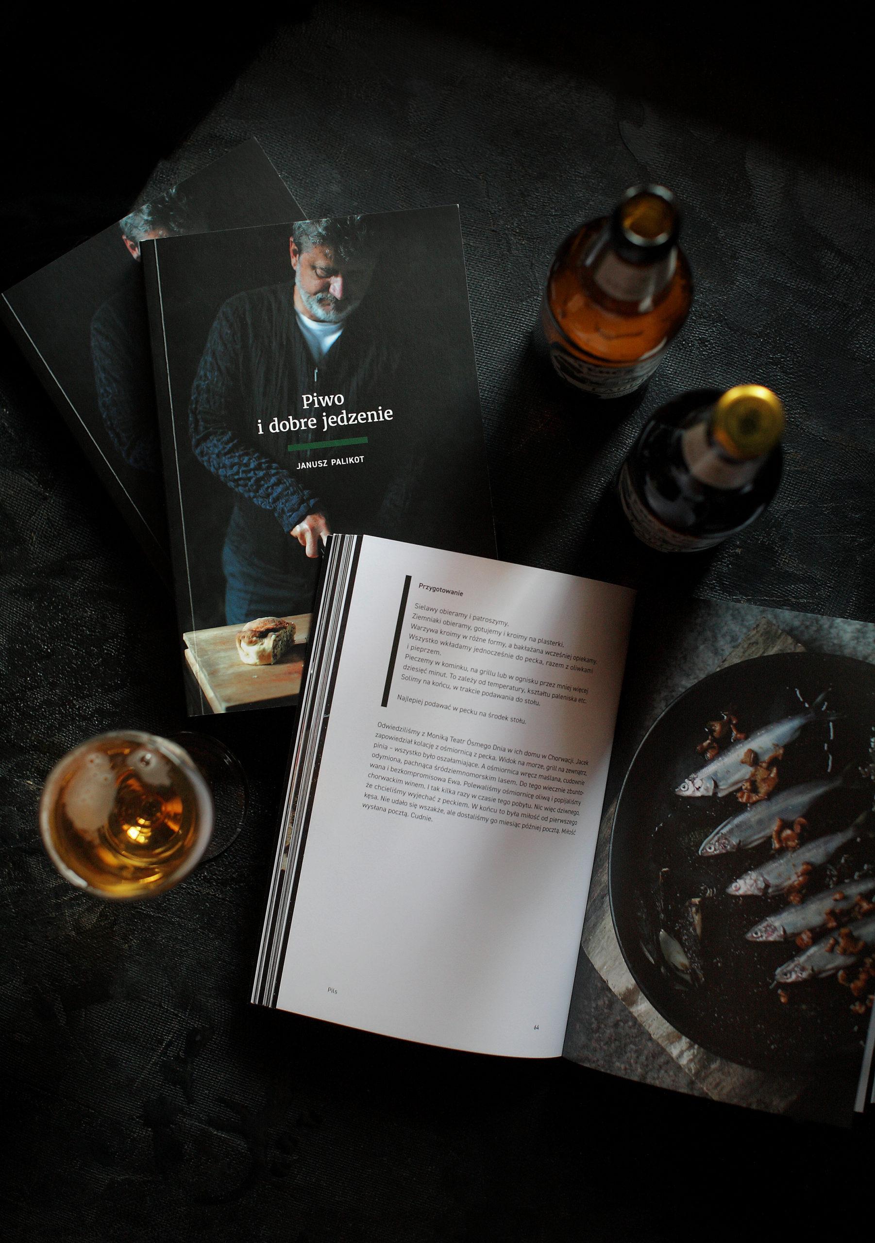 Zestaw 2 książki + 6 piw gratis