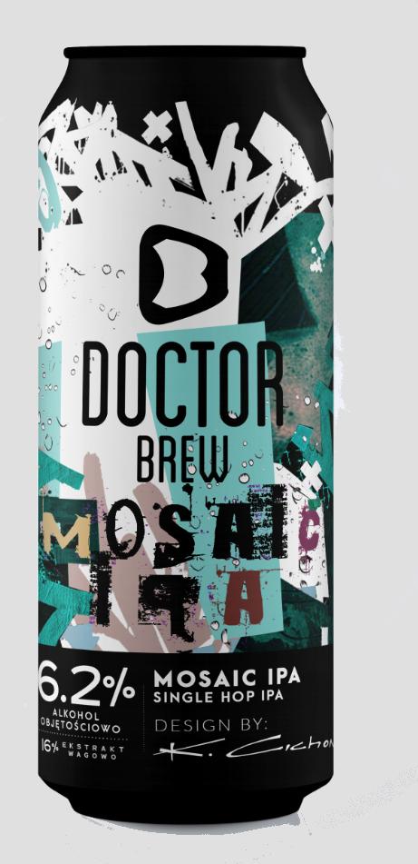 Doctor Brew - Mosaic IPA