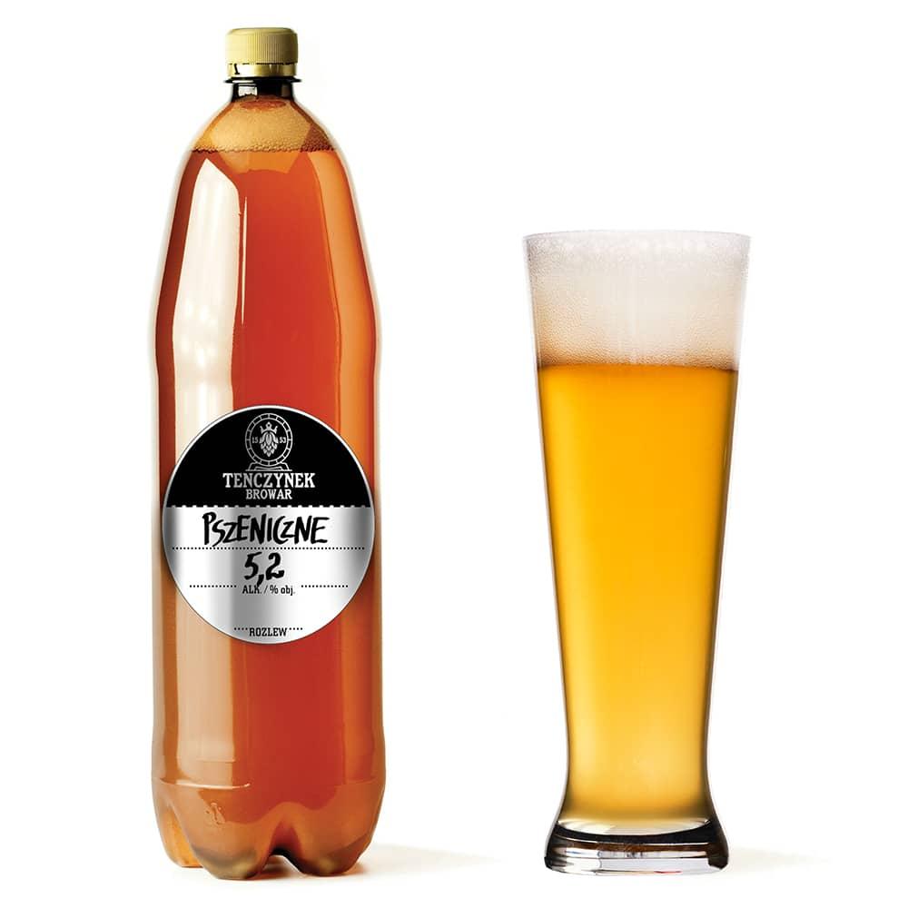 Piwo Świeże 1 litr - Pszeniczne