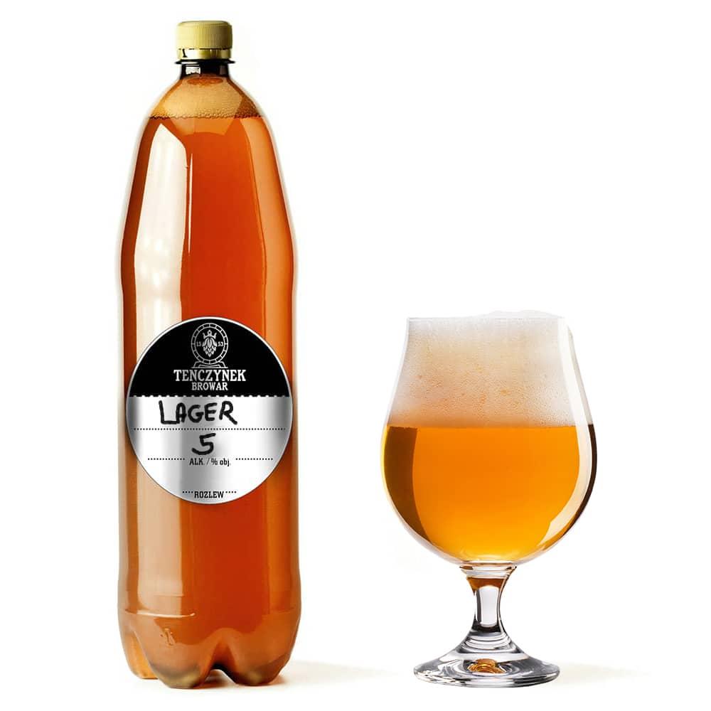 Piwo Świeże 1 litr - Lager