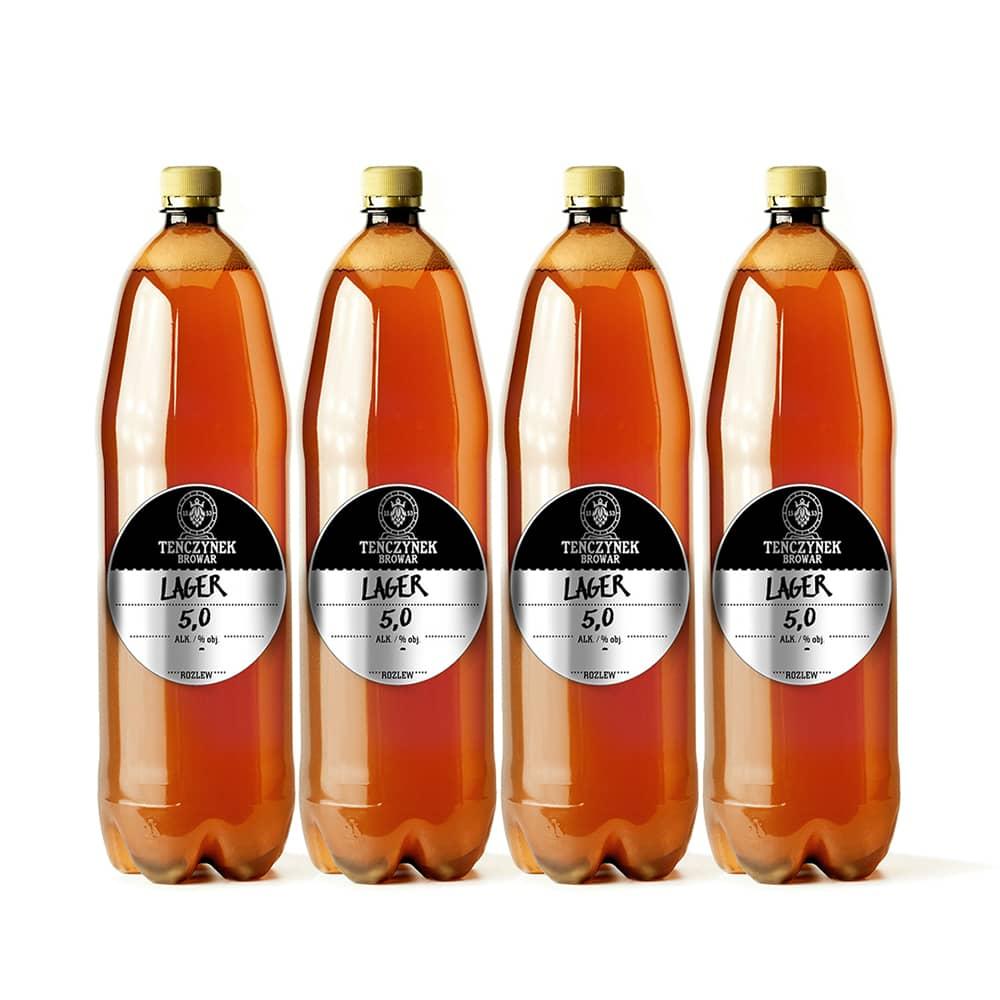 Piwo Świeże 4 x 1 litr - Lager