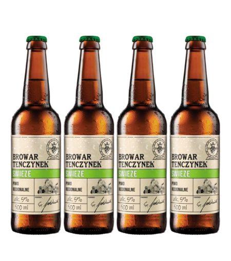 Piwo Świeże x 4