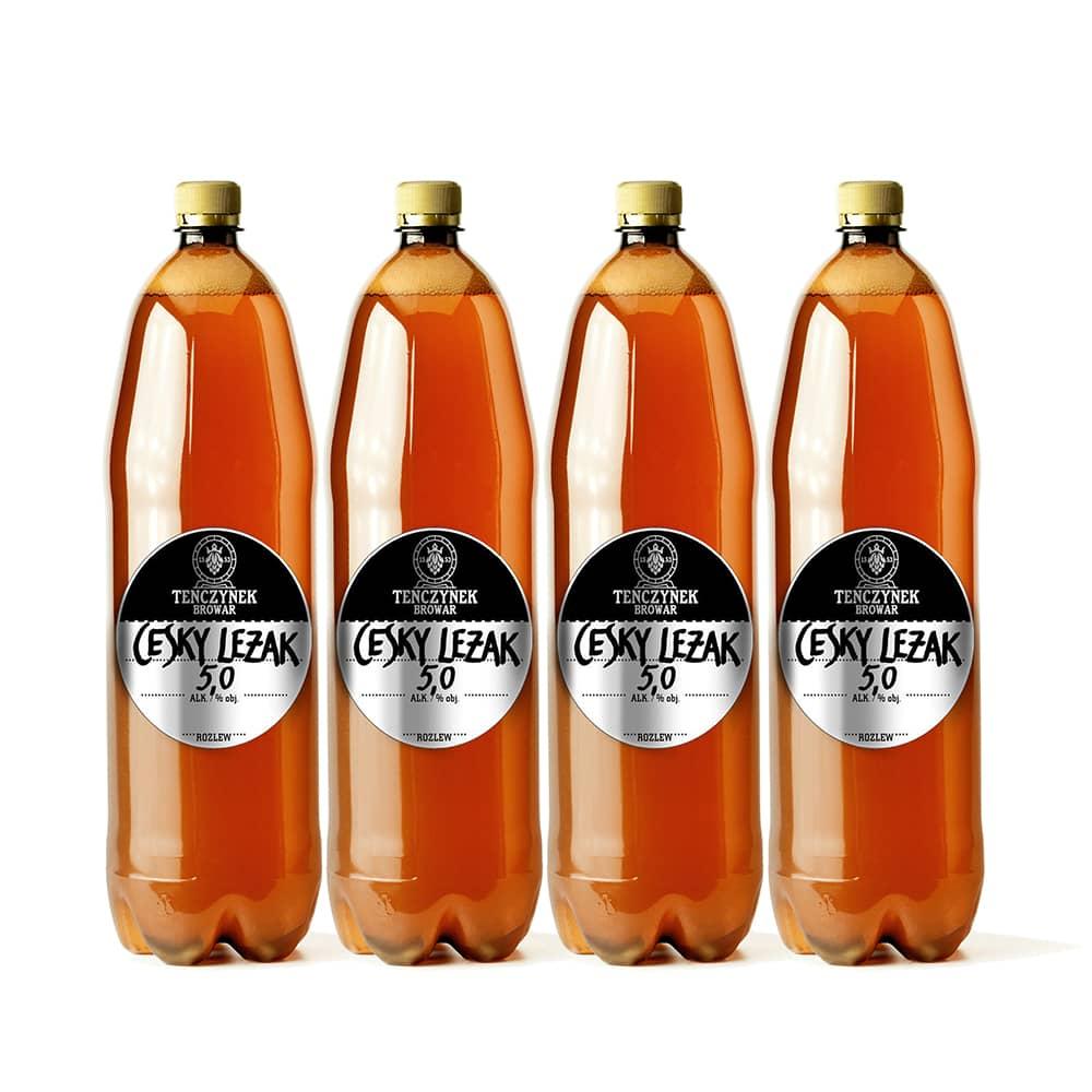 Piwo Świeże 4 x 1 litr - Český Ležák