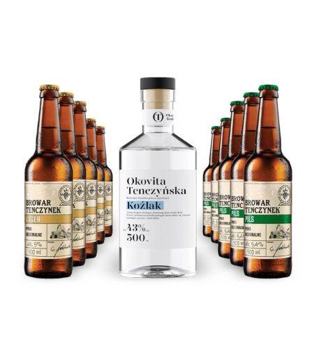 Okovita Koźlak +10 piw