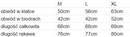 rozmiary bluza