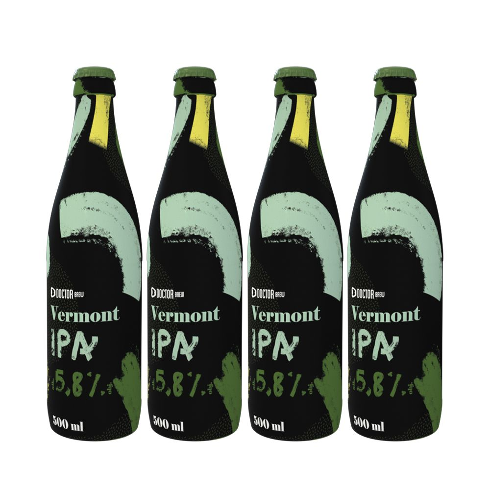 Doctor Brew Vermont IPA x 4