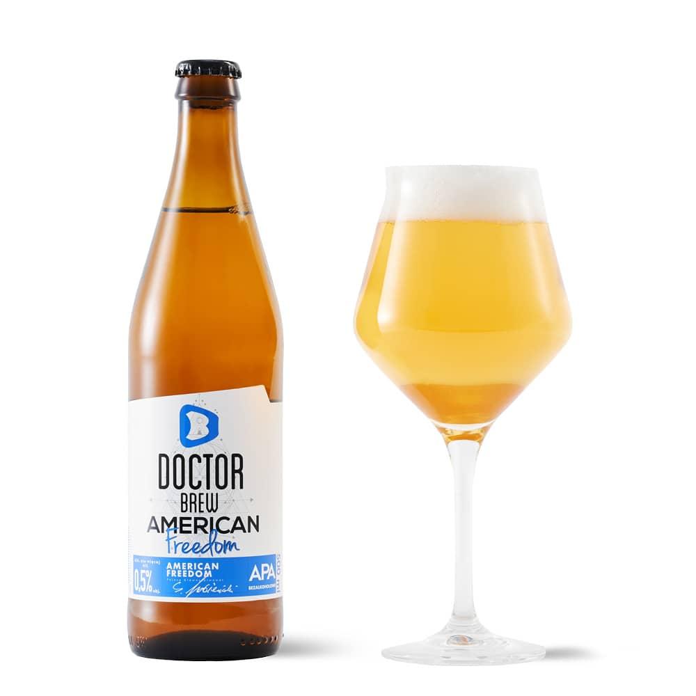 Doctor Brew Bezalkoholowe American Freedom 500ml